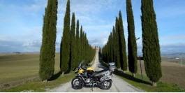 Weekend in moto in Val d'Orcia e non solo